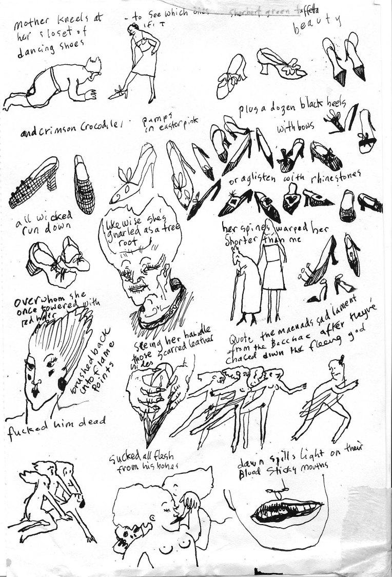 shoe sluts sketch
